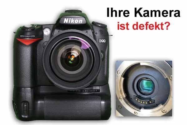 Ihre Kamera defekt